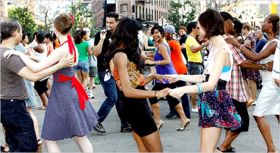 Latin Dancing in New York